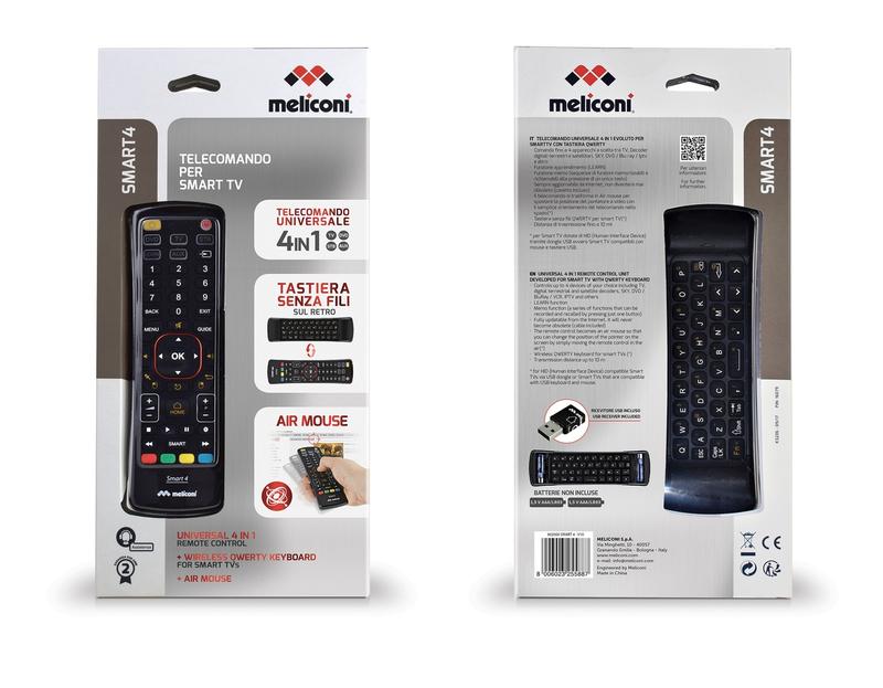 Meliconi Tv Meubel.Meliconi Smart 4 Universal Remote Control