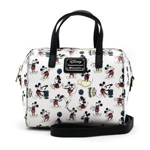 Loungefly Disney Mickey Poses All Over Print Tote Bag