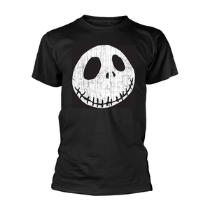 Nightmare Before Christmas Cracked Face Men's T-Shirt Black