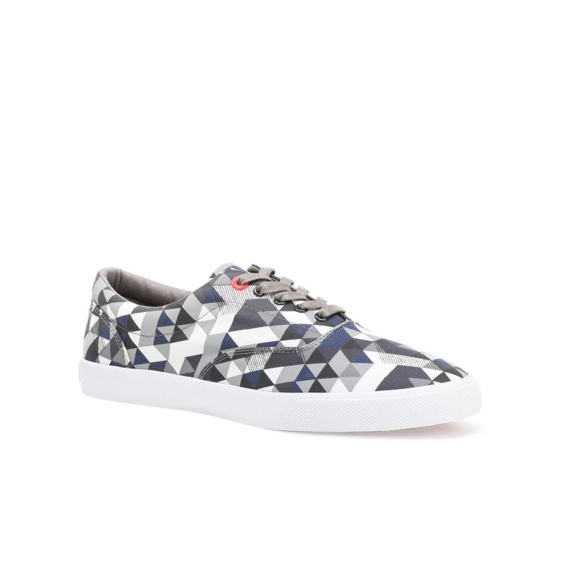 Bucketfeet Delta Charcoal Low Top Canvas Lace Men'S Shoes Size 9