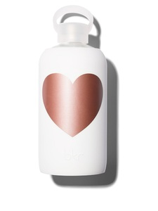 BKR Metallic Rose Winter Heart Water Bottle 1L