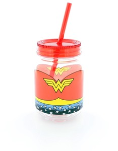 Wonder Woman Mini Mason Jar