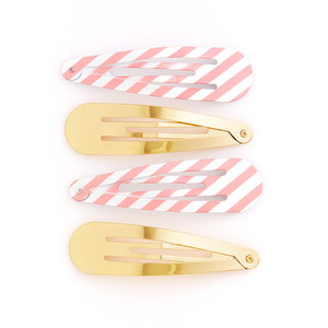 Ban.do Oh Snap Triangle Clip Set Ticket Stripes