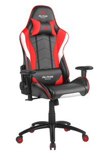 Alpha Gamer Delta Black/White/Red Gaming Chair