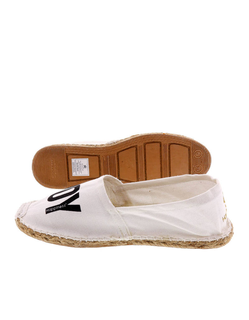 Enjoy Gv White Women'S Espadrillas Size 38