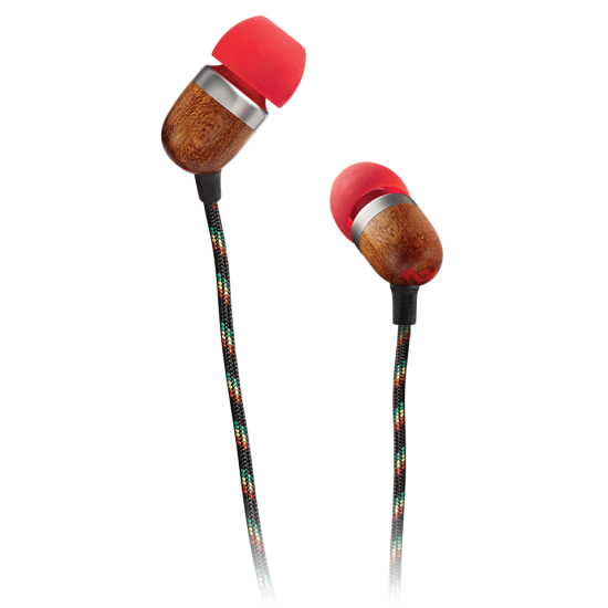 2e7a1bf3b2e The House of Marley Smile Jamaica Fire In-Ear Earphones   In-Ear Headphones    Headphones   Headphones + Audio   Electronics & Accessories   Virgin  Megastore