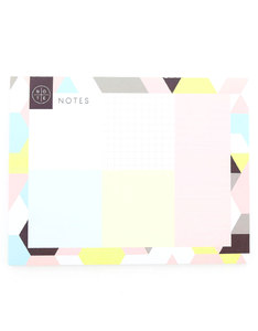 STUDIO NOTE SOFTLY GRAPHIC DESK PAD