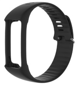 Polar A360 Wrist Strap Black Large