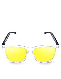 Emoji Total Custom Bright White/Yellow Adult Sunglasses