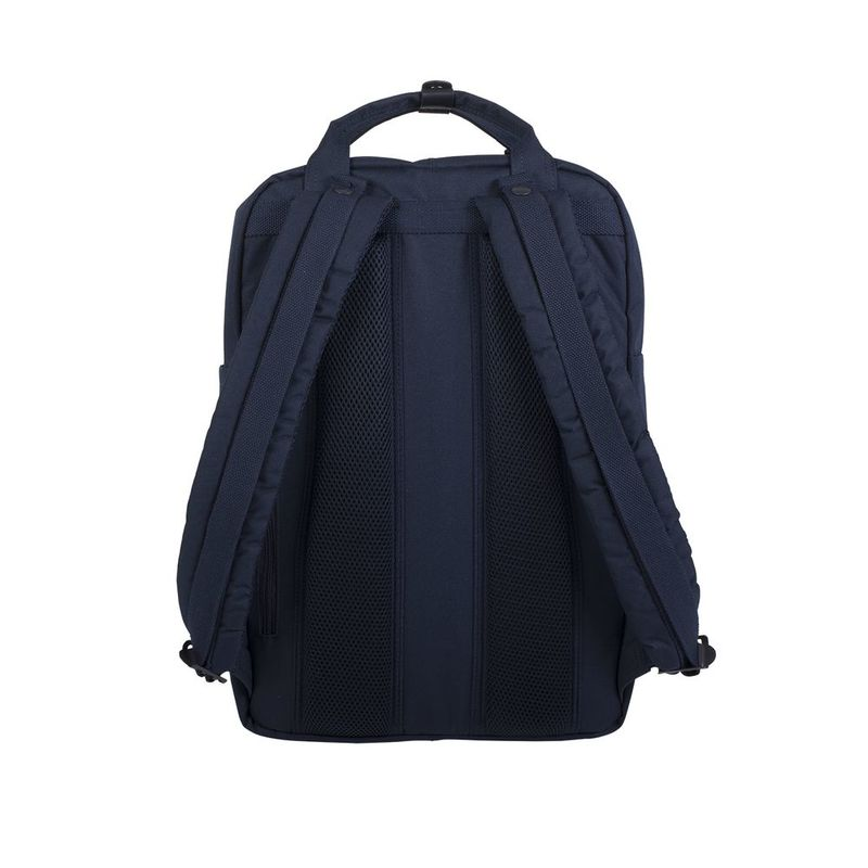 Doughnut Macaroon Large Navy Series Navy Backpack