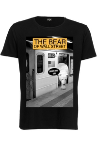 Foy Paris Wall Street Basic Ss  Black Men's T-Shirt
