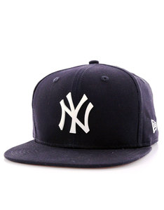 New Era MLB Rubber Badge NY Yankees White Cap