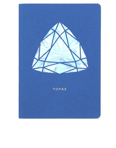 Portico Design Topaz Birthstone Blue A6 Notebook