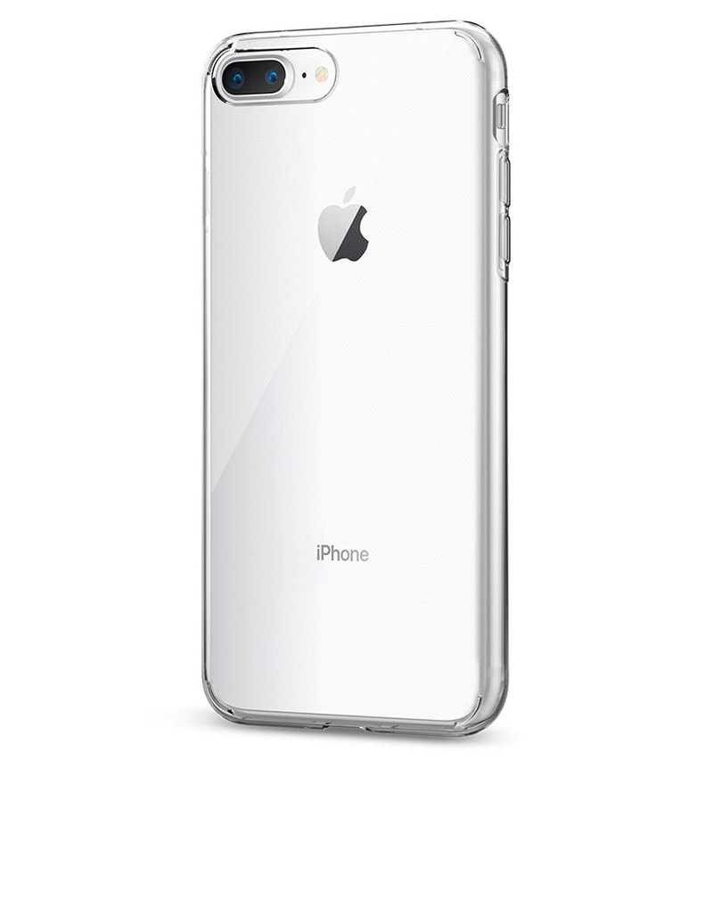 Spigen Liquid Crystal Case Clear For Iphone 8 7 Plus Cases Shell Dark