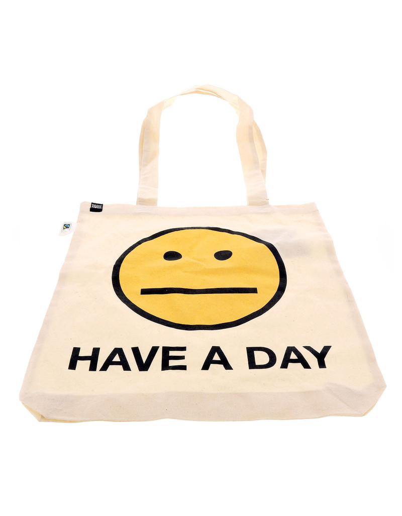 Dedicated Totebag Have A Day Off White Tote Bag
