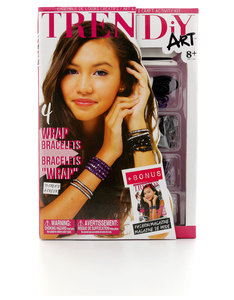 TRENDiY Arts Wrap Bracelets Activity Set