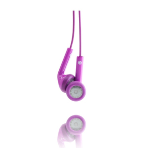 Happy Plugs Cerise Earphones