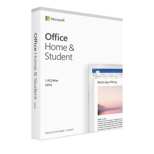 Microsoft Office Home and Student 2019 (1 PC/Mac)