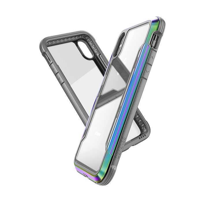outlet store 162f5 d6ecb X-Doria Defense Shield Case Iridescent for iPhone XS