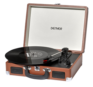 Denver Electronics VPL-120 Turntable Brown