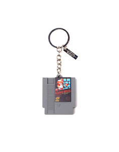 Difuzed Nintendo Cartridge 3D Rubber Grey Keychain