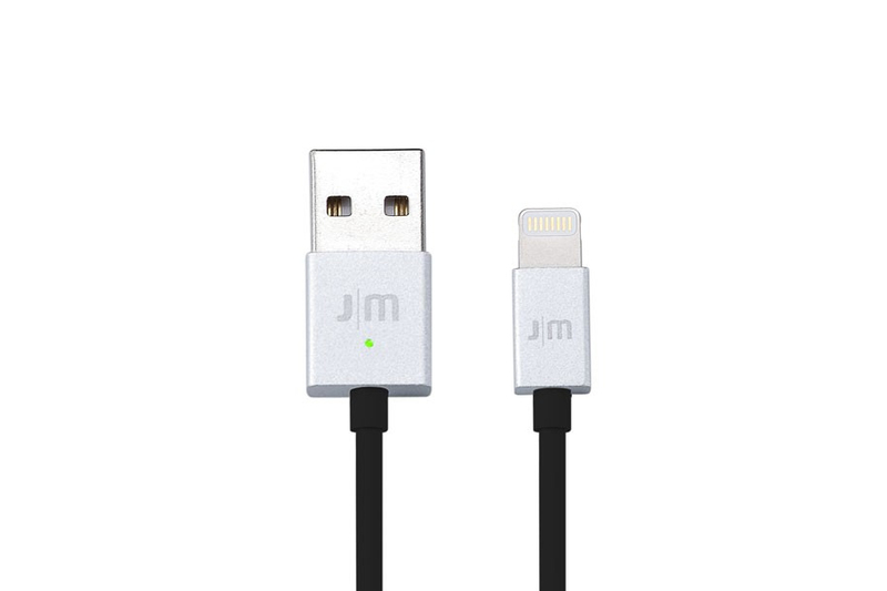 Just Mobile Alucable Silver Led Lightning Cable 1M
