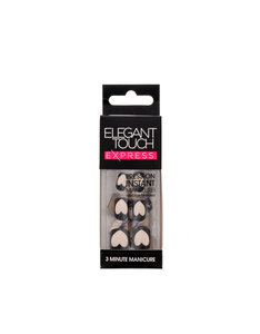 Elegant Touch Trend Empty Heart Nails