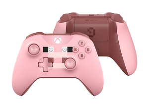 Microsoft Minecraft Pig Controller For Xbox One