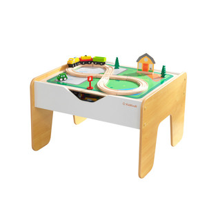 Kidkraft 2-In-1 Activity Table With Board Gray/Natural
