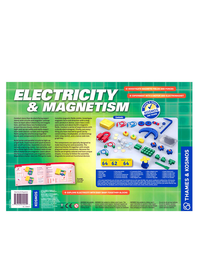 Thames & Kosmos Electricity & Magnetism Project Kit