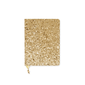 Go Stationery Sequin Gold All That Glitters Journal