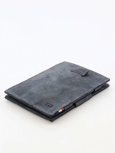 Garzini Cavare Magic Wallet Vintage Carbon Black