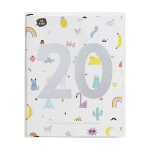 kikki.K 2020 Cute Weekly Diary Small Be Kind White