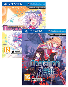 Hyper Dimension Pp/Operation Abyss Ps Vita