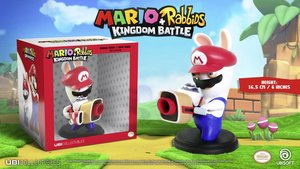 Mario + Rabbids: Kingdom Battle - Rabbid Mario / Lapin Mario: 6 Inch Figurine