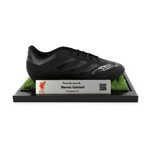 Bootroom Collection Gerrard Signed Blackout Adidas Boot