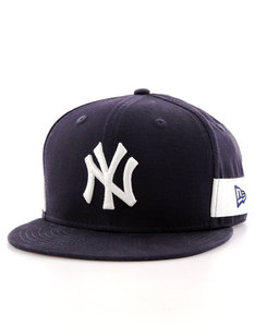 New Era MLB Side Block Snap NY Yankees Navy Cap