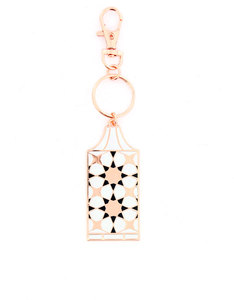 Bumble & Mouse Enamel Arabic Lantern Charm/Key Chain
