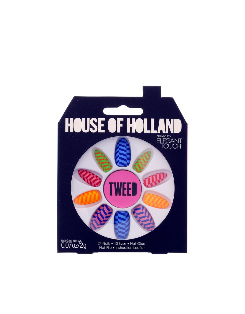 Elegant Touch House Of Holland Tweed Nails