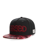 Cayler & Sons Greed Black/Red Snakes/Red Cap