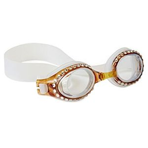 Bling2O Swimming Goggles Tortoise with Swarovski Caramel