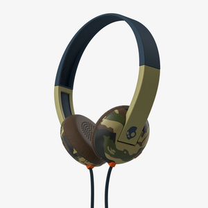 Skullcandy Uproar W/Tap Tech Camo/Slate/Navy Headphones