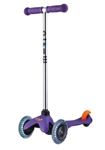 Mini Micro Classic LED Scooter Purple
