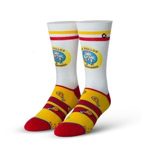 Odd Sox Breaking Bad Los Pollos Hermanos Standard Men's Socks [Size 6-13]