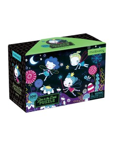 Mudpuppy Fairies Glow in the Dark Puzzle