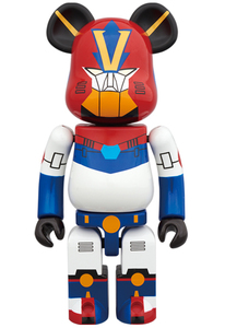 Bearbrick Combattler V Super Alloyed Figure