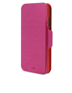 Puro Bi-Color Wallet Case Pink/Red iPhone 6