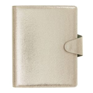 kikki.K Pu Leather Personal Planner Large She Shines Gold Shimmer