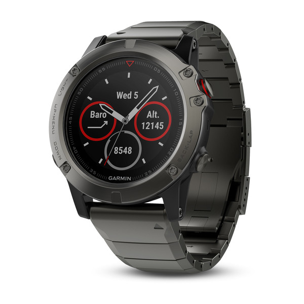 Garmin Fenix 5X Sapphire Slate Gray with Metal Band