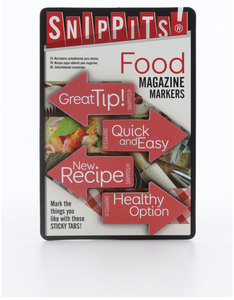 Snippits Magazine Page Markers Food